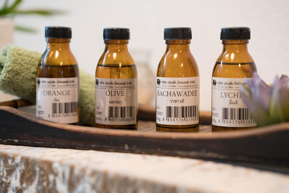 Aroma-Essenzen für die Aroma-Therapie